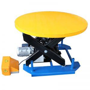 HRL Стационарный подъемный стол с карусельным поворотным столом