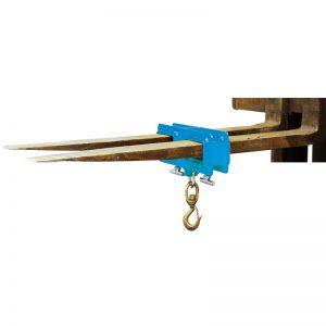 подъемный крюк на вилке