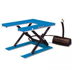 U-образный низкопрофильный стационарный подъемный стол