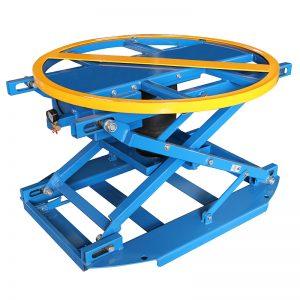 QAL1000 пневматический вращающийся подъемный стол