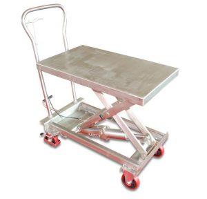 Подъемный стол из нержавеющей стали BSS10